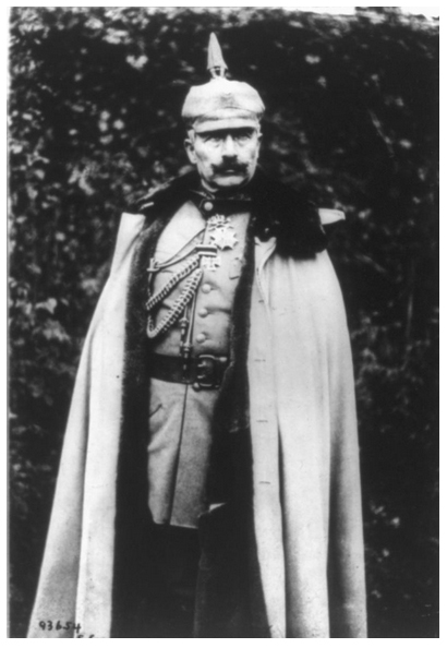 Guillermo II, emperador de Alemania, ca. 1915. Colección Library of Congress, Washington, D.C.