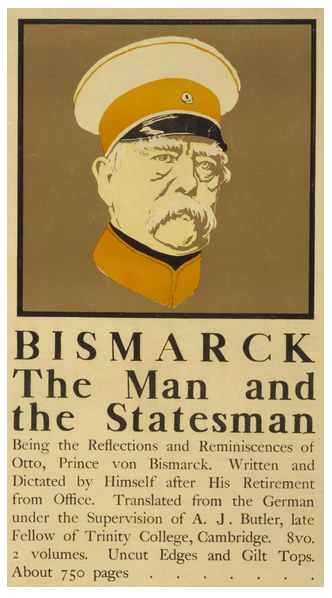 The Man and the Statesman. Litografía de Edward Penfield, 1898. Colección Library of Congress, Washington, D.C.