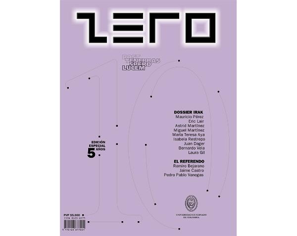 Revista Zero edición 10