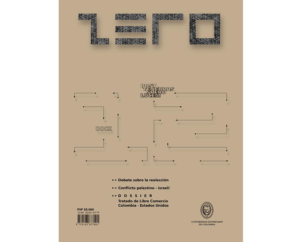 Revista Zero edición 12