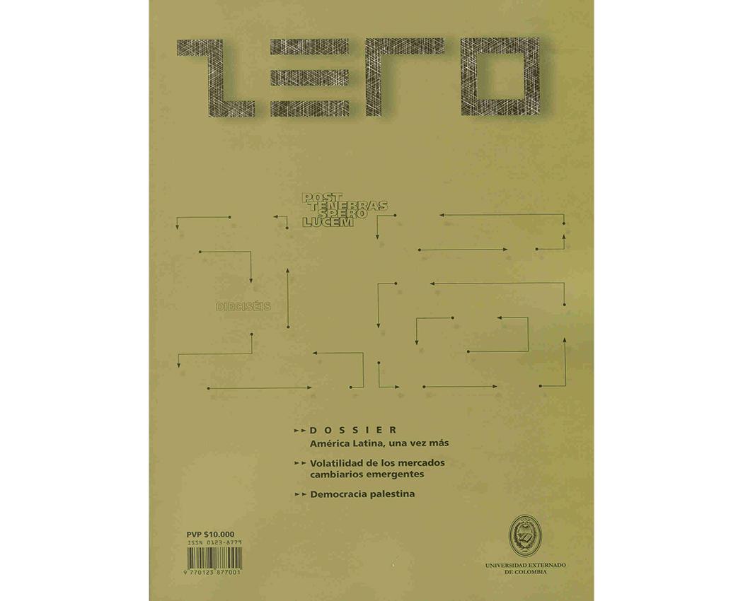 Revista Zero edición 16